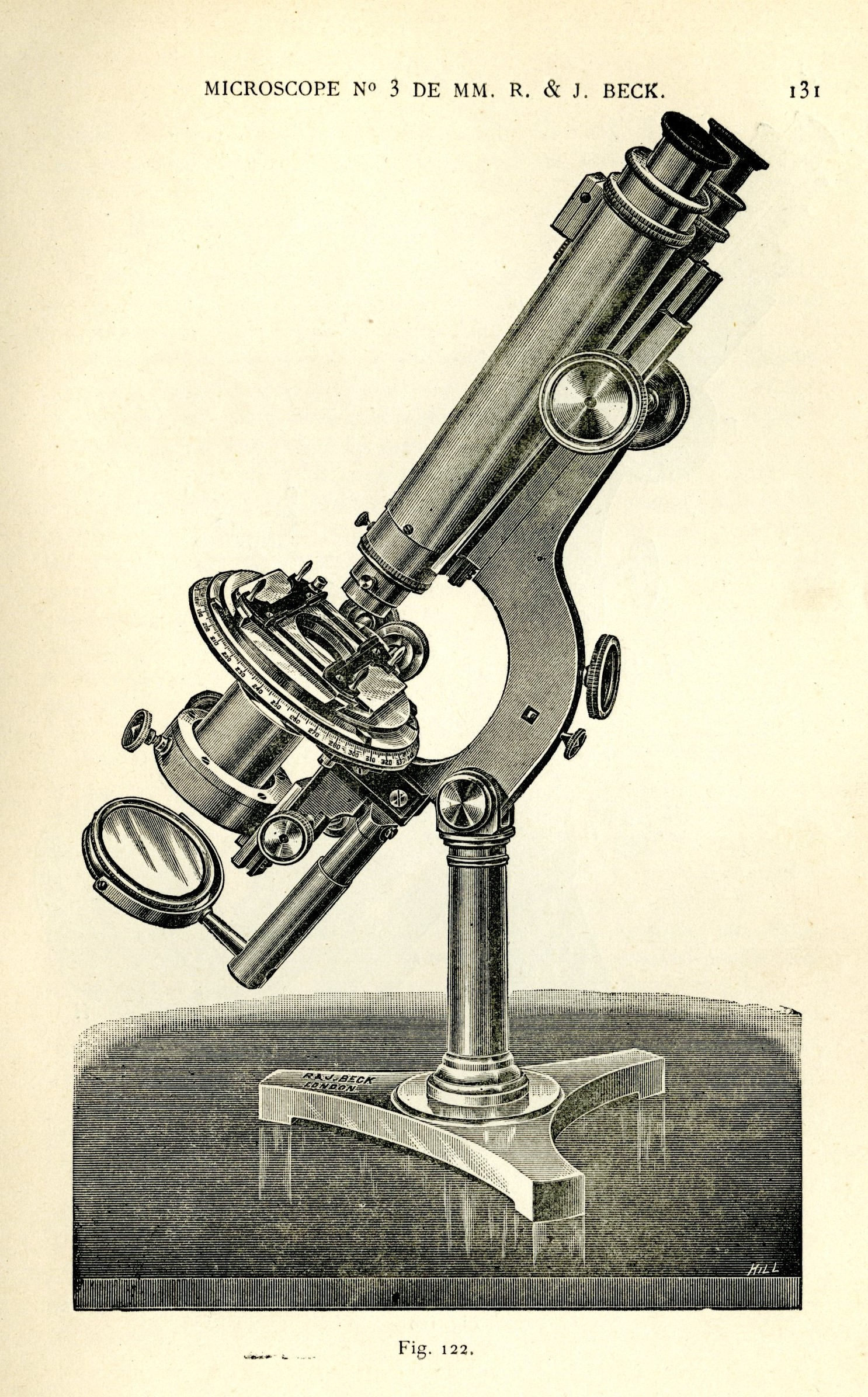 Microscope de Beck